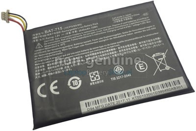 2640mAh Acer KT.00103.001 battery replacement